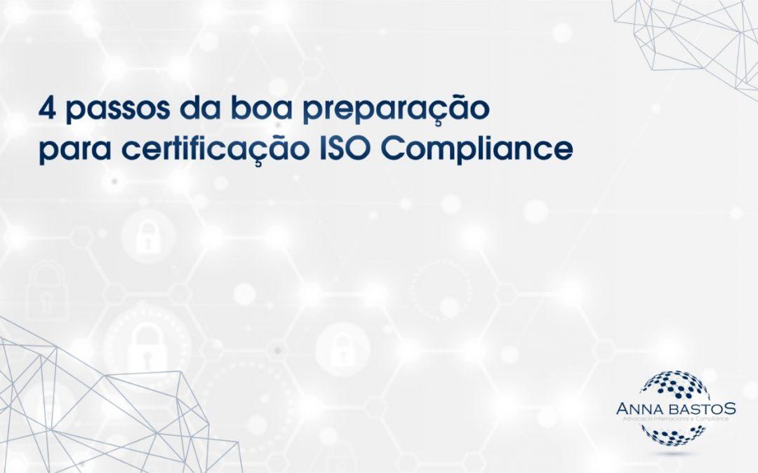certificação iso compliance