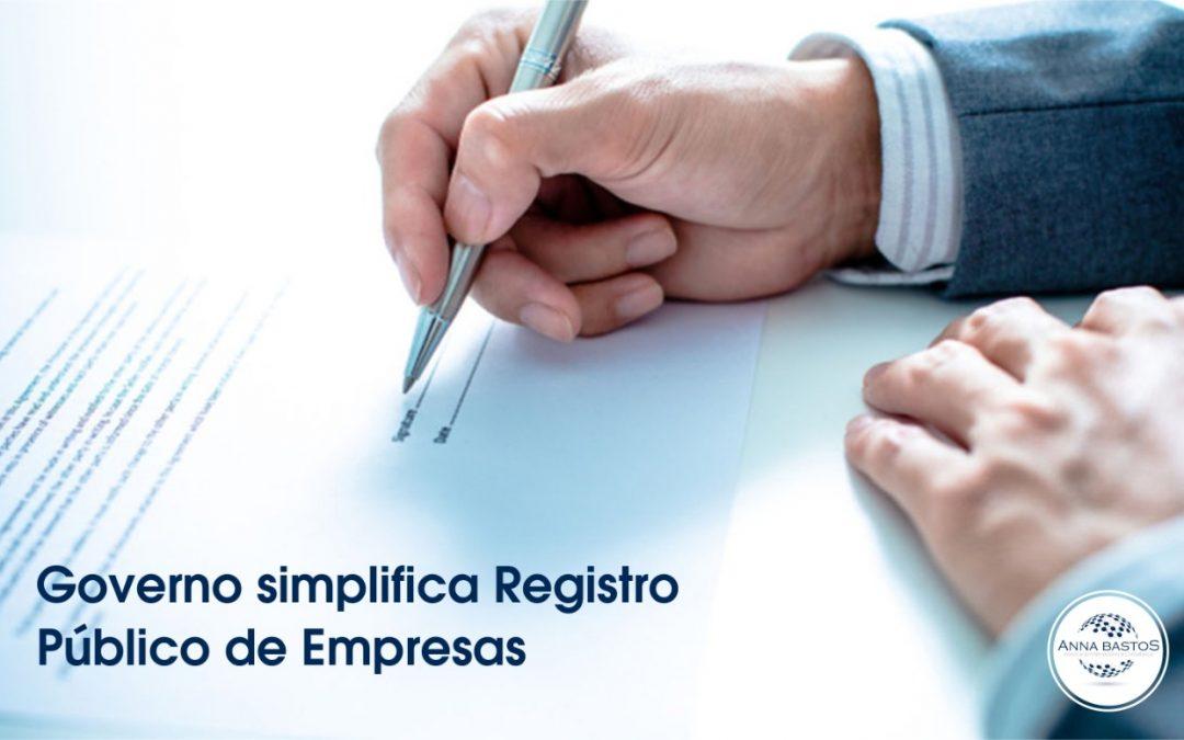 Governo simplifica Registro Público de Empresas