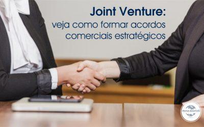 Joint Venture: veja como formar acordos comerciais estratégicos