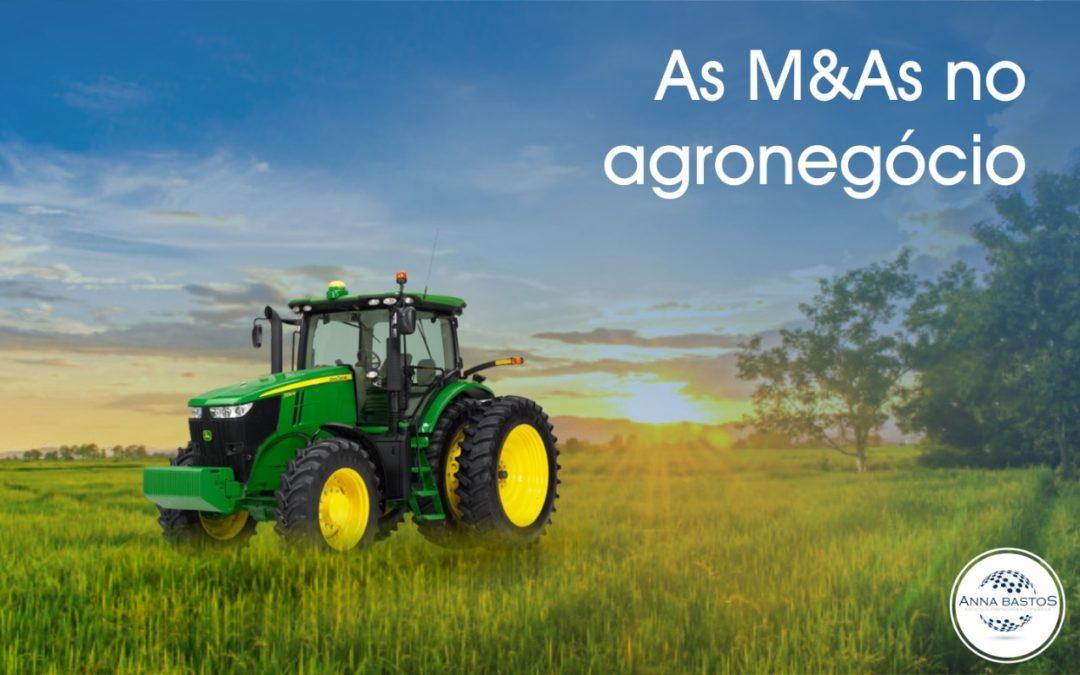 Cresce procura por fusões e aquisições no Agro