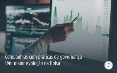 Companhias com práticas de governança corporativa têm maior evolução na Bolsa