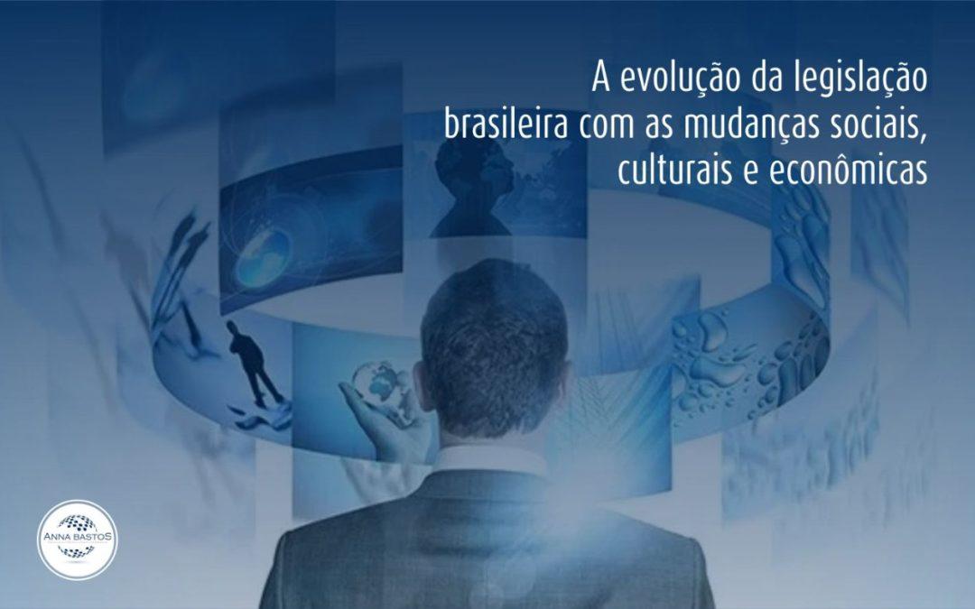 evolução da legislação brasileira
