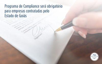 Goiás tornará obrigatória a adoção do Programa de Compliance